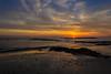 Cádiz Dorada (lamujerverdeverde) Tags: playadesantamaríadelmardecádiz playasdecádiz playa santamaríadelmar puestasdesol mar cádiz playas colores sol