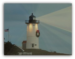 May the Light Always Guide You (guarnc) Tags: light house nobska cod cape hole woods coastal