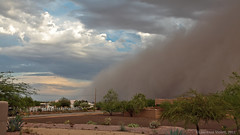 Dust storm approaches (l.e.violett) Tags: duststorm haboob clouds thunderstorm arizona pse