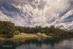 Cruising to the 'Isle of the Dead' (SteveWhitworthPhoto) Tags: australia tasmania portarthur history historical convict heritage sky clouds cloudformation weather southeasterntasmania nikon nikond800e nikon1424mmf28