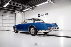 1960's Facel Vega II (Edwin Peek) Tags: car cleaning blue rare sportscar classic youngtimer photography detailing detail high end expensive luxury canon eos 7d mark1 marki sigma art photo epeek edwin peek automotive facel vega ii 2 facelvega2 facelii facel2 french france paris