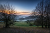 FIRST SUNRISE 2017 (jochenlorenz_photografic) Tags: sunrise explore inexplore nature naturallight outdoor earlybird earlymorning misty fog coldmorning wintermorning winter landscape landschaftsaufnahme landscapelovers nikon nikond7100 nikonlandscape tokina1116mm28 beautifullight beautifulnature colorful