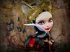 Beauty and the Beast.... (NylonBleu) Tags: eah mh ever after high nylonbleu kamarza princesse princess ooak repaint custo