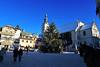 Megève (France) (JBGenève) Tags: france megève ski skiresort extérieur sapin christmastree place square village horse alpes alps