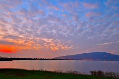 DSC_1267 (david linson) Tags: 美麗台灣 阿公店水庫落日 beautiful taiwan a gong shop reservoir sunset
