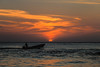 Heading Home (mclcbooks) Tags: sunset dusk evening sky clouds sea ocean caribbean cartagena colombia waves reflections boat silhouette landscape seascape