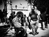 How to shock a Local (Matthias Matula) Tags: istanbul topkapi street candid tourist shocked turkey local sony a6000 blackwhite look 35mm sultanahmet park urban people