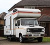 BVV 818X (Nivek.Old.Gold) Tags: 1982 freight rover sherpa ci highwayman camper 1700cc