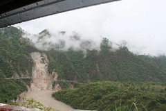 this is the biggest landslide met (Lina Polmonari) Tags: rain car pioggia auto frana landslide