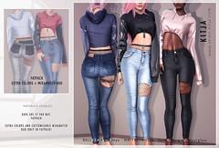 KITJA - Karina Outfit (ᴋɪᴛᴊᴀ) Tags: kitja spiritkitja kustom9 belleza maitreya slink fittedmesh mesh meshbody meshclothes 3d secondlife