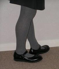 Mary jane Kickers (clared02) Tags: kickers maryjanes greytights