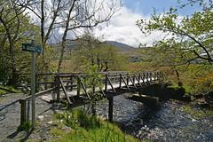 Show me the Way... (Harleynik Rides Again.) Tags: riverfoot glenelg bridge river burn scotland highlands harleynikridesagain nikondf showmetheway