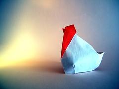 Gallina - Juanfran Carrillo (Rui.Roda) Tags: origami papiroflexia papierfalten poule galinha chicken gallina juanfran carrillo