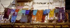 Panoramic Clotheslines (Artypixall) Tags: cuba havana balcony window clothes clotheslines facade streetscene