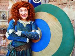 Merida (meeko_) Tags: merida princess brave pixar characters disneycharacters pixarcharacters fairytalegarden fantasyland magic kingdom magickingdom themepark walt disney world waltdisneyworld florida