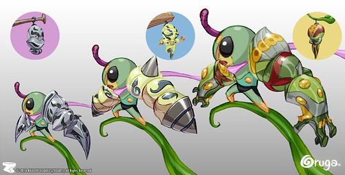 Character designer - illustration 86 | Oruga