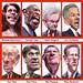 Caricatures: GOP Presidential Debate Participants September 2011