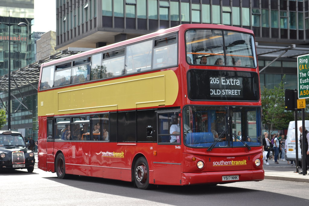 Southern Transit TA406 Y517NHK (Will Swain) Tags: street city uk travel  england bus