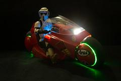 Troopin' in Japan (katsuboy) Tags: anime japan starwars motorcycle akira kaneda scouttrooper sideshowcollectibles sideshowtoys kanedasbike