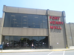Fort Henry Mall Entrance (Random Retail) Tags: retail mall store tn kingsport 2015 kingsporttowncenter forthenrymall