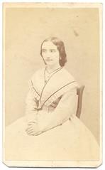 36 - Amelie (fotobarat966) Tags: portrait woman lady vince amelie cdv magyar pest hungarian portré kirschner hölgy nő pesth vizitkártya