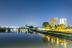 Night is blue (photosenvrac) Tags: lumire loire nuit nantes ville thierryduchamp