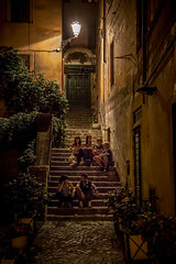 Nightlife Rome (cpphotofinish) Tags: street travel bridge light italy rome roma del canon square outside eos is photo italia noir foto image marcus outdoor mark pantheon corso tourist stairway via streetphoto usm lazio santangelo bilde agrippa mk3 turist f4l canonef isusm ef24105mmf4 ef24105mm carstenpedersen mklll romenoir eos5dmk3 cpphotofinish canonredlable
