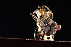 Excerpt from Snapshot (KevinIrvineChi) Tags: chicago ada dance concert dancers dancing wheelchair performance perform burlesque oakpark disabilities wheelchairs disability chicagoist counterbalance 2015 momenta bodiesofwork garrywinogrand disabilitypride nationalmuseumofmexicanart accessliving disabledandproud americanswithdisabilitiesact integrateddance laurellawson momentadancecompany alicesheppard ada25 fullradiusdance excerptfromsnapshotminskysburlesquenewjerseyca1954 ada25chicago
