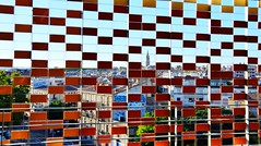 City trough mosaic (yonkis_at_34) Tags: pictures life voyage new city trip travel roof sunset favorite france beautiful architecture out landscape fun this see landscapes photo check amazing nikon rocks flickr photographer gare pics postcard horizon picture sunny ciudad montpellier most enjoy stadt ants fabulous capture popular roussillon languedoc ville postale carte citta • photographe hérault occitanie ensoleillé objektif nikond200 my kartpostal nikond5300 yonkis34