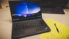 work-0018 (Patrick H~) Tags: work notebook laptop thinkpad lenovo t450s