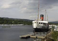 A4_Maid_001 (Aquila Hartley-Heys) Tags: water scotland boat loch lochlomond paddlesteamer maidoftheloch