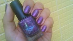 Gift of Sparkle - Color Club (Raabh Aquino) Tags: glitter purple nails nailpolish unhas roxo esmalte