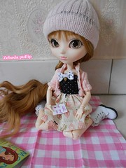 Salomé - Pullip kiyomi (ZebadaPullip) Tags: pink white snow tristan doll alice version william collection planning passion romantic groove pullip kiyomi lucie jun mathilde salomé taeyang zebada