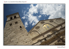 Spoleto - La Cattedrale di Santa Maria AssuntA (Andrea di Florio (5,000,000 views)) Tags: santa street nikon maria chiesa e piazza duomo spoleto bianco nero umbria interno scultura assunta religione d600 lucenaturale andreadiflorio
