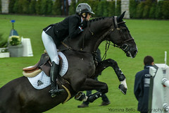 Tiffany Foster riding Tripple X (yasminabelloargibay) Tags: show horse netherlands caballo cheval grey bay mare gray chestnut cavalier horseshow cavallo cavalo pferd stallion canter valkenswaard hest gct paard showjumping darkbay hpica 2015 horserider gelding dapplegrey showjumper hipica hipismo coulored globalchampionstour longinesglobalchampionstour