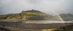 Rainbow at Slheimajkull (r.monroy) Tags: iceland glacier southcoast sland shoutshore