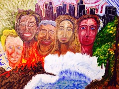 'Virtual 21st Century' by Octavious Sage 2012 Oil on Canvas (Oakland.Style Artist Octavious Sage) Tags: art oilpainting colorart octavioussage octavioussageart instantarts oiloctaviouss virtual21streality