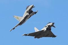 TYPHOON BREAK (MANX NORTON) Tags: shadow hawk aircraft hurricane jet fast falcon eurofighter lancaster spitfire vulcan r1 jaguar f3 c17 boeing 20 chinook tornado dakota typhoon raf nato hawker sentinel sentry nimrod a400 awacs gr4 bbmf xh558 coningsby e3a 41sq huntere3a atlasharrier