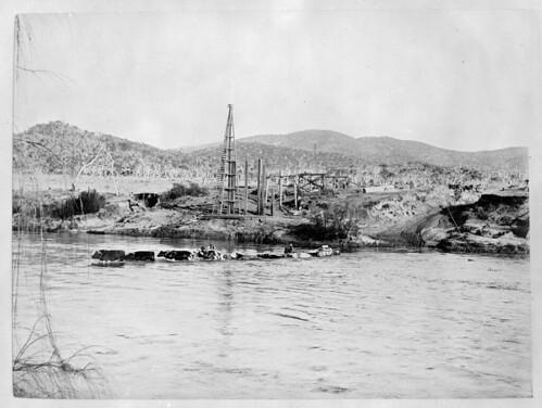 Tharwa Bridge over the Murrumbidgee River, 1894 / O'Hanlon