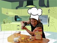 I'm Baking a Cake! (Bella Lisa) Tags: cakes baking wah ameliabedelia hereios