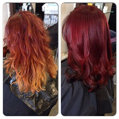 "#beforeandafter #Colourchange #redhair #healthyhair #shinyhair #wella @blush_haircardiff @wellaeducation • <a style=""font-size:0.8em;"" href=""http://www.flickr.com/photos/119571362@N02/22758864716/"" target=""_blank"">View on Flickr</a>"