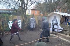 Mittelalter Weihnachtsmarkt 2015 - Zauberkessel Walsrode - Lager Sturvolt - Kay (7) (m_przybilla) Tags: kay ritter schwert walsrode zauberkessel sturvolt waffengang
