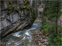 Johnston-Canyon (F. Ovies) Tags: canada montaas rocosas