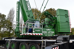 King Lifting LTM 1500-8.1 (Jack Westwood) Tags: bridge crane cranes heavy ballast lifting liebherr mobilecrane mercedessprinter bloxwich nooteboom cranehire craneservices mantgx liebherrltm150081 liebherrltm kinglifting liebherrmobilecrane