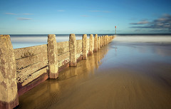 Blyth Beach Groyne 2 (loftylion9) Tags: storm sunrise gales northumberland bamburgh holyisland lindisfarne stmarys blyth amble stmaryslighthouse dunstanburghcastle embleton coquetisland blythbeach lowhauxley bambirghcastle