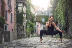 (dimitryroulland) Tags: nikon d600 85mm 18 dimitry roulland dance dancer zumba performer art montmartre paris france city street natural light