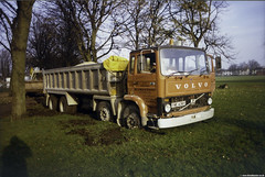 Volvo F7 8X4 Stuck (Betapix) Tags: volvo f7 8x4 tipper mc ma stewart coppull truck trucks lorries hgv lgv 1 2 3 artic trailer