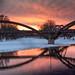 winter tridgey-bridge
