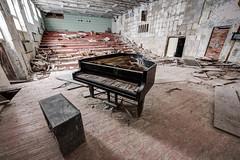 Auditorium, Music School, Pripyat (tom.frohnhofer) Tags: chernobyl ukraine pripyat nuclear urban explorer atomic power station 2016 music school auditorium piano grand derelict abandoned