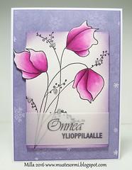 Demure (Milla*Mustesormi) Tags: card pennyblack demure